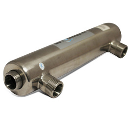 Stainless Steel UV Tube 22mm X 2 Input - Tube Only