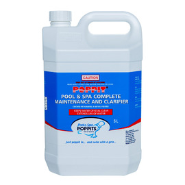 Poppits Spa Complete Maintenance and Clarifier 5 Litre