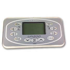 Davey Spa Quip  SP1200 Rectangular Touchpad and Overlay