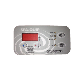 Davey Spa Quip  Overlay to Suit Q71092 Touch Pad