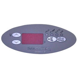 Davey Spa Quip  SP600/601 Overlay to Suit Q71093 Touch Pad