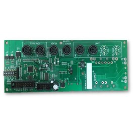 SpaNet XS-2000 controller Brain PCBA (mini din side)