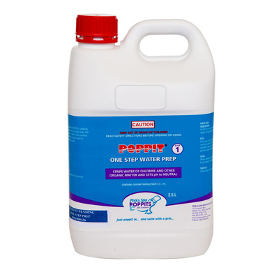 Poppits® 1 Step Water Prep Balance 2.5 Litre